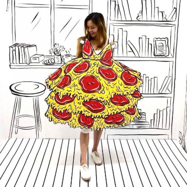 Cheat Day Land Pizza Dress